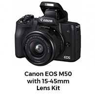Canon EOS M50 from Harvey Normal